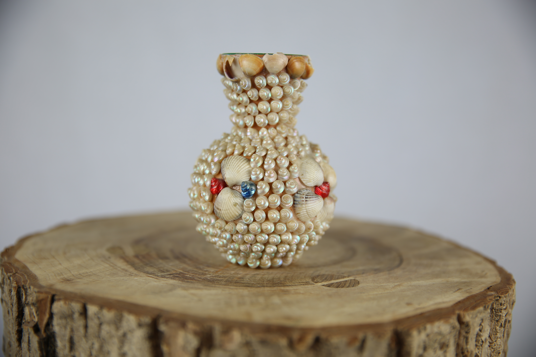 z petit vase en coquillages  u2013 zwickyfactory