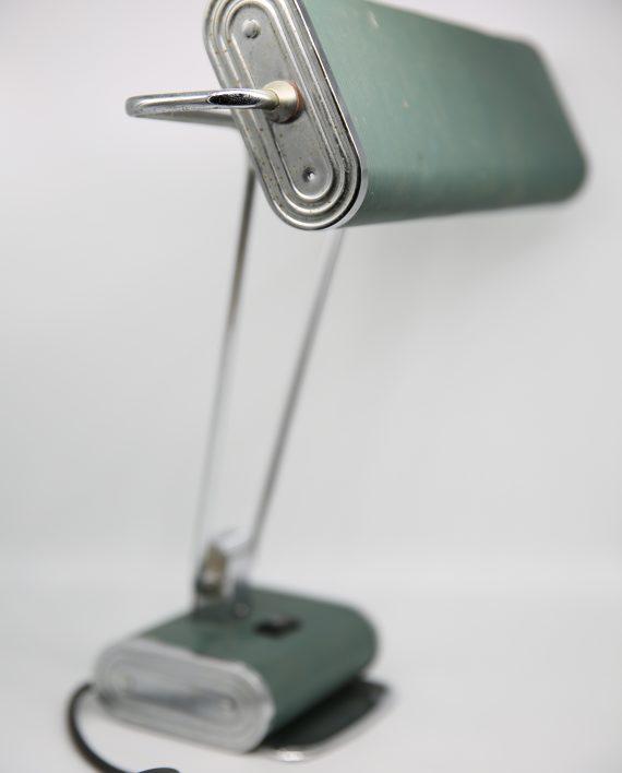 z lampe de bureau art d co eileen gray pour jumo zwickyfactory. Black Bedroom Furniture Sets. Home Design Ideas