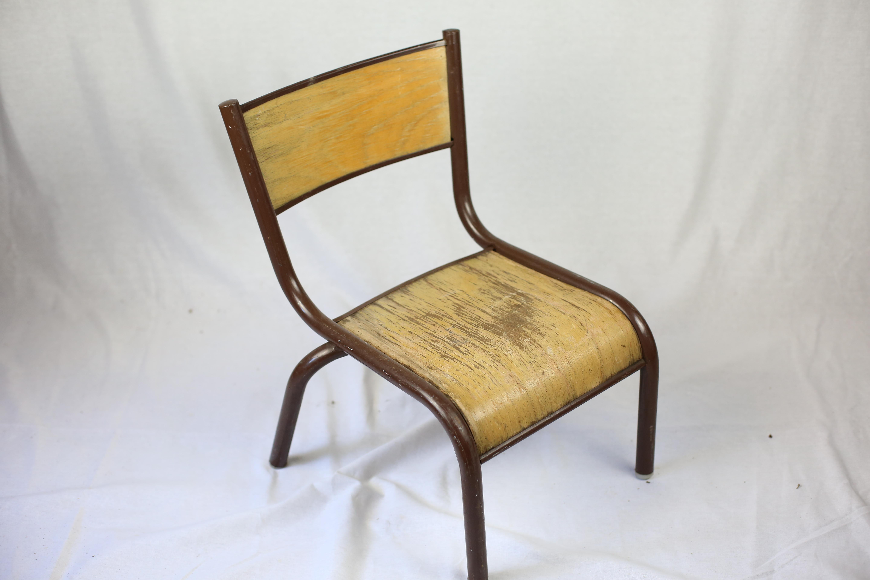 Chaise D École Mullca chaise écolier maternelle vintage