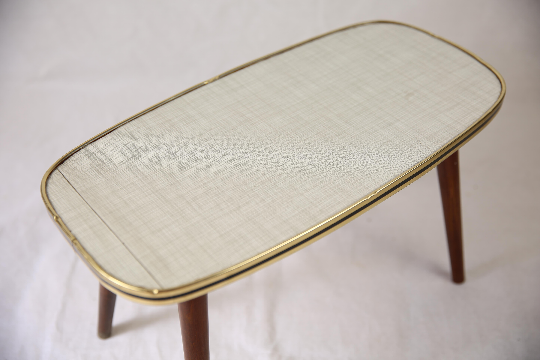 Table Basse En Formica z petite table basse formica pieds compas année 50